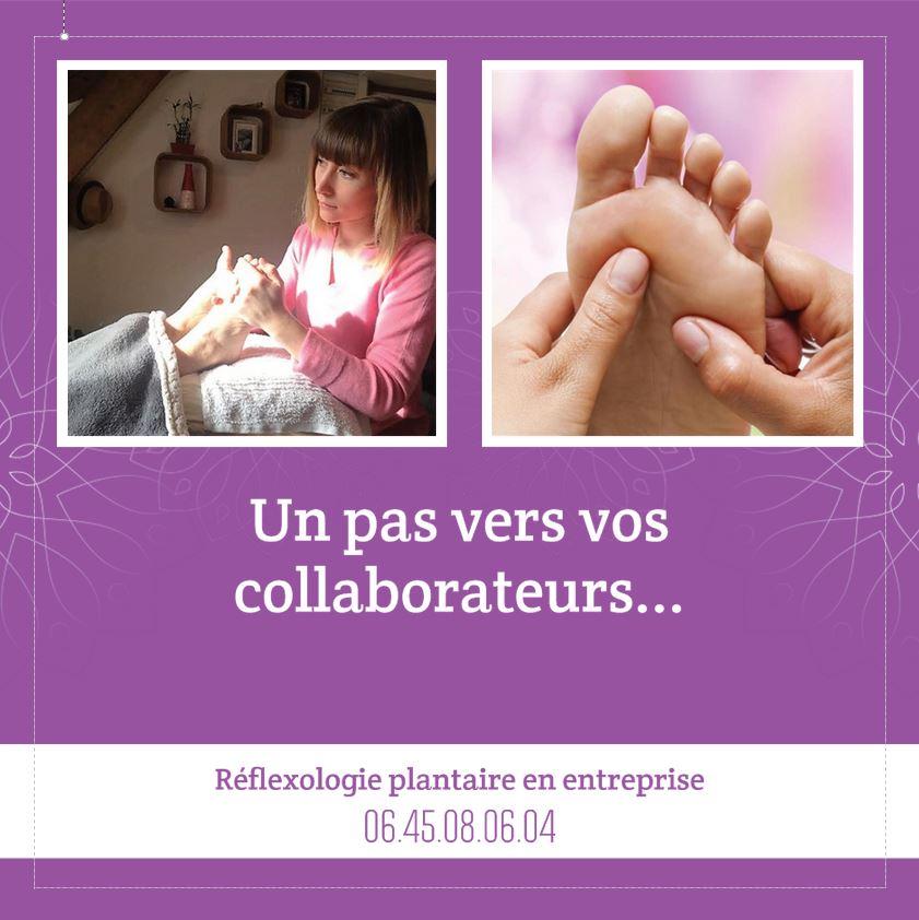 Réflexologie en entreprise en Savoie